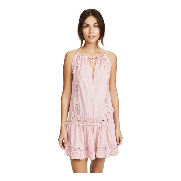 MELISSA ODABASH chelsea dress - An airy Melissa Odabash dress accented with tonal lace and...