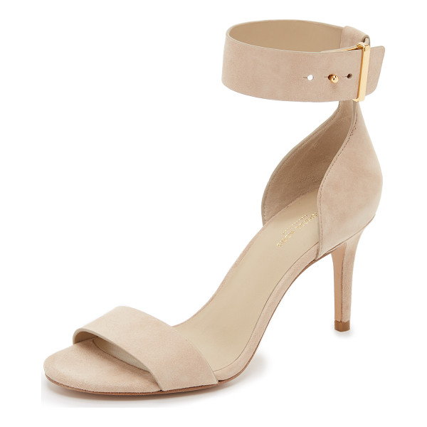 MICHAEL KORS COLLECTION Ames sandals - Luxe suede composes these refined Michael Kors Collection