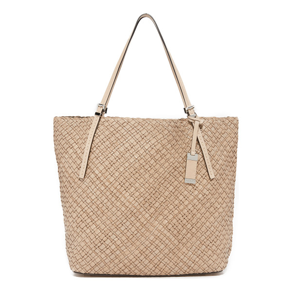MICHAEL KORS COLLECTION hutton large tote - A slouchy Michael Kors Collection tote composed of slim...