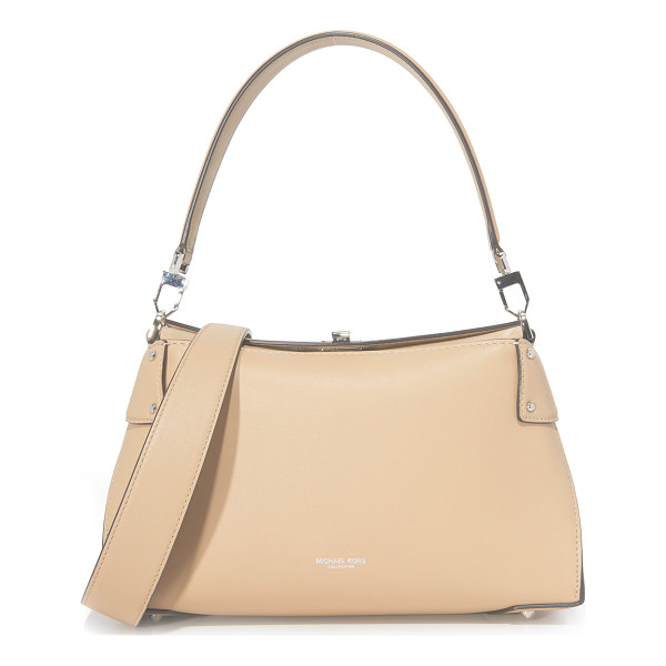 MICHAEL KORS COLLECTION miranda top lock shoulder bag - A sophisticated Michael Kors Collection handbag in a sleek,