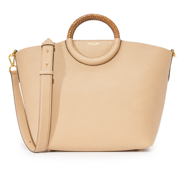 MICHAEL KORS COLLECTION skorpios market bag - This roomy Michael Kors Collection tote is rendered in
