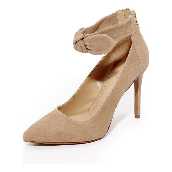 MICHAEL MICHAEL KORS alina pumps - A soft, knotted bow adds feminine charm to these...