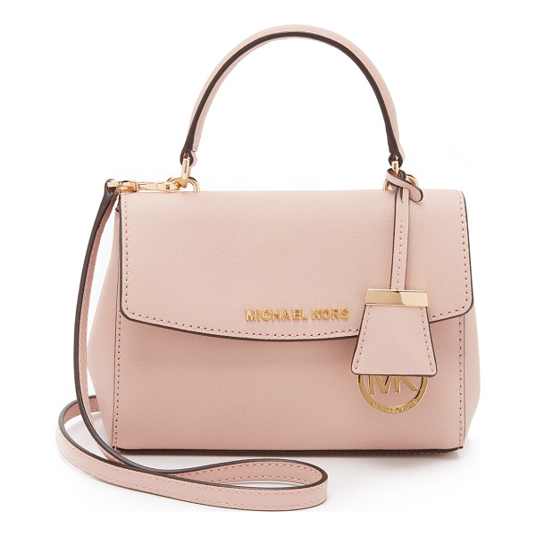 MICHAEL MICHAEL KORS Ava extra small cross body bag - A structured MICHAEL Michael Kors cross body bag in