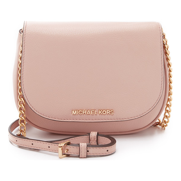 MICHAEL MICHAEL KORS Bedford small cross body bag - A refined MICHAEL Michael Kors cross body bag in pebbled
