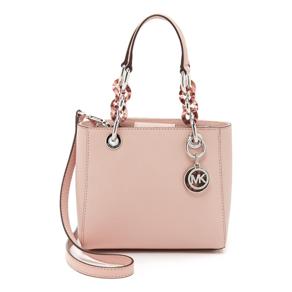 MICHAEL MICHAEL KORS Cynthia extra small satchel - A small MICHAEL Michael Kors satchel in saffiano leather.