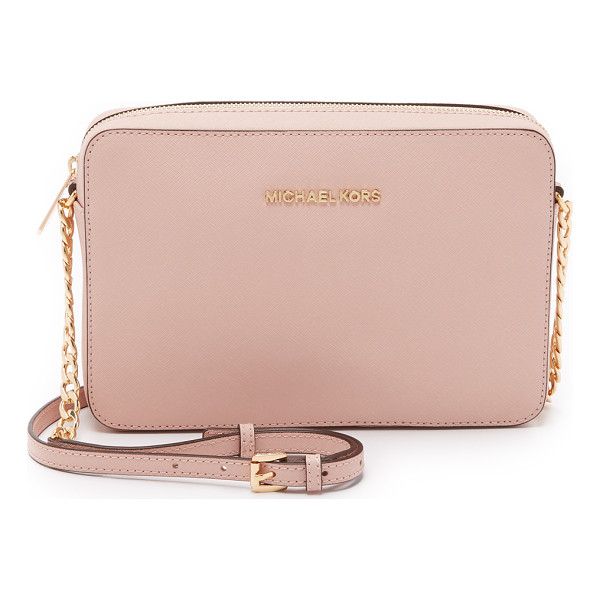 MICHAEL MICHAEL KORS Jet set large cross body bag - An elegant MICHAEL Michael Kors cross body bag rendered in