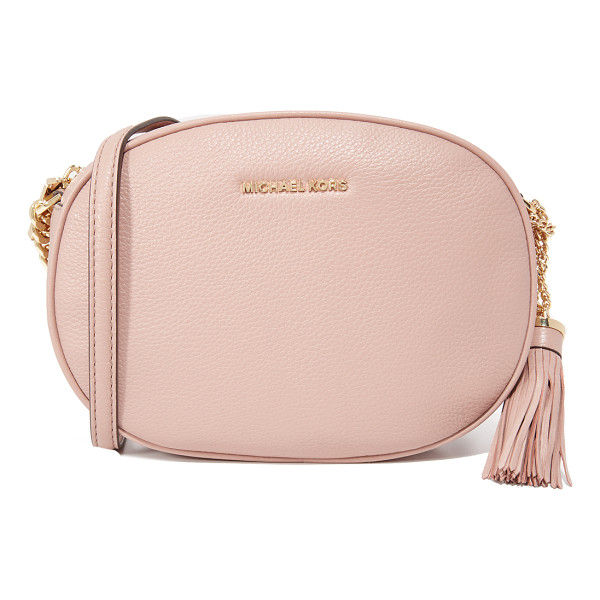 MICHAEL MICHAEL KORS medium ginny messenger bag - A petite MICHAEL Michael Kors cross-body bag in wrinkled...
