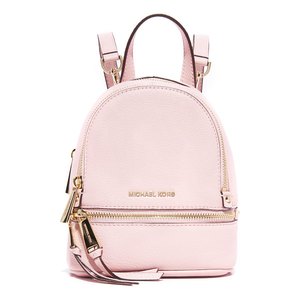 MICHAEL MICHAEL KORS Rhea mini backpack - A petite MICHAEL Michael Kors convertible backpack in