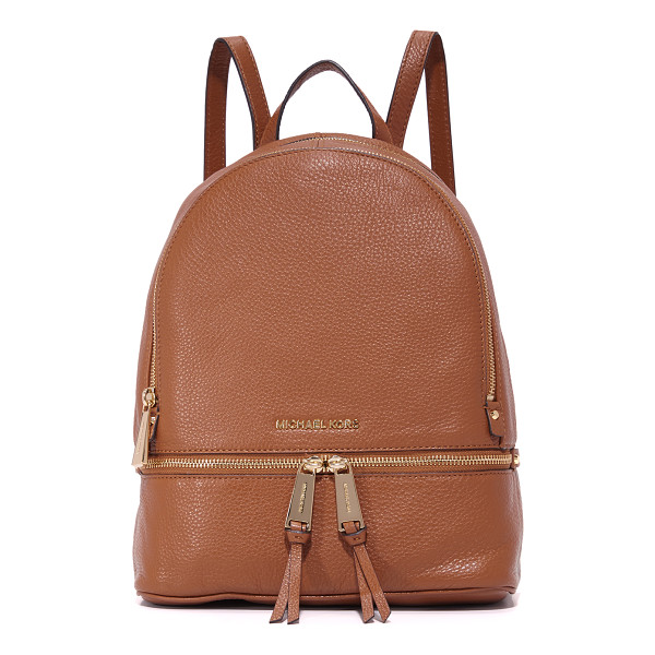 MICHAEL MICHAEL KORS rhea small backpack - A versatile MICHAEL Michael Kors backpack, rendered in...