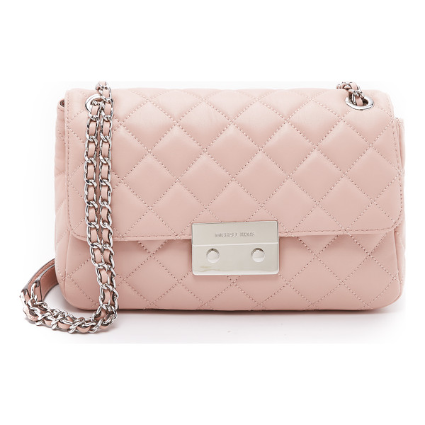 MICHAEL MICHAEL KORS Sloan large chain shoulder bag - A versatile MICHAEL Michael Kors bag in plush quilted