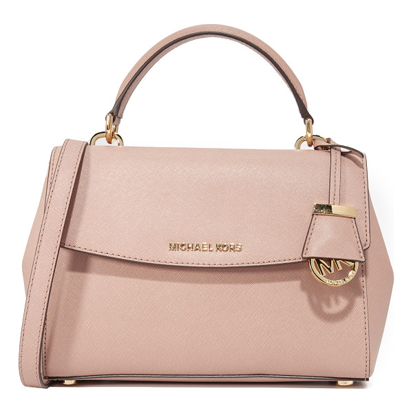 MICHAEL MICHAEL KORS small ava top handle satchel - A structured MICHAEL Michael Kors cross-body bag in