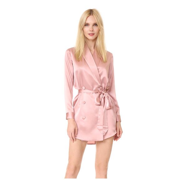 MICHELLE MASON belted dress jacket - Exclusive to Shopbop. A lustrous silk Michelle Mason dress...