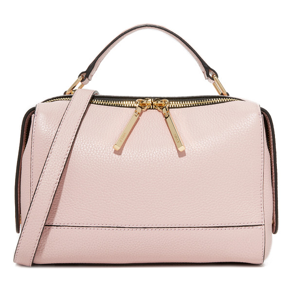 MILLY astor satchel - This structured Milly satchel is crafted in rich pebbled...