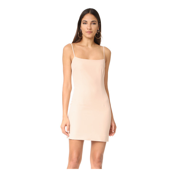 MILLY mini slip dress - A fitted Milly mini dress in a formfitting silhouette. Wide...