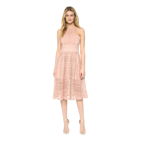 MINISTRY OF STYLE allure floaty dress - Crisp pleats accent the swingy skirt of this Ministry of...