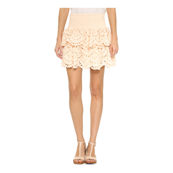 MINISTRY OF STYLE hunter skirt - This tiered Ministry of Style miniskirt gains a feminine...