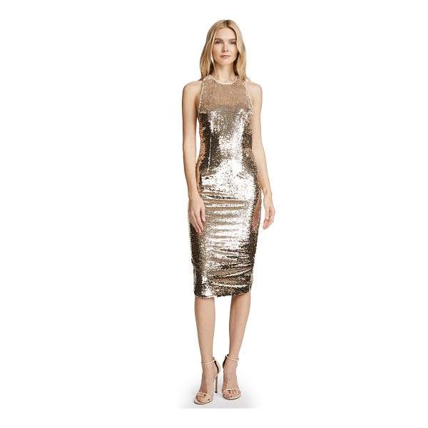 MISHA COLLECTION amya dress - Fabric: Sequined weave Back slit Body-con silhouette...