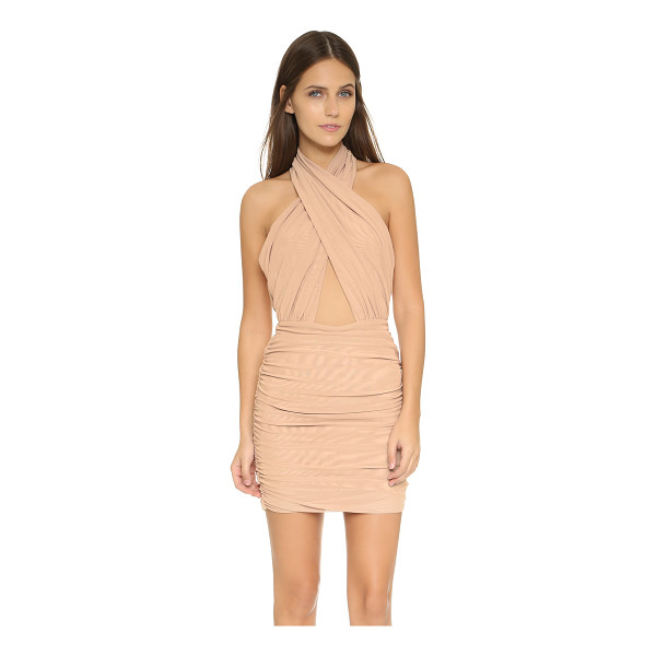 MISHA COLLECTION keziah dress - This daring Misha dress features a crossover neckline and...