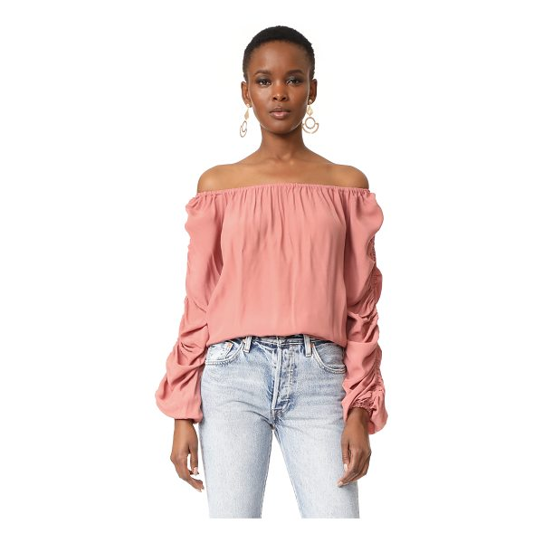 MLM LABEL atlantic off shoulder top - Hidden elastic bands run down the long sleeves of this MLM...