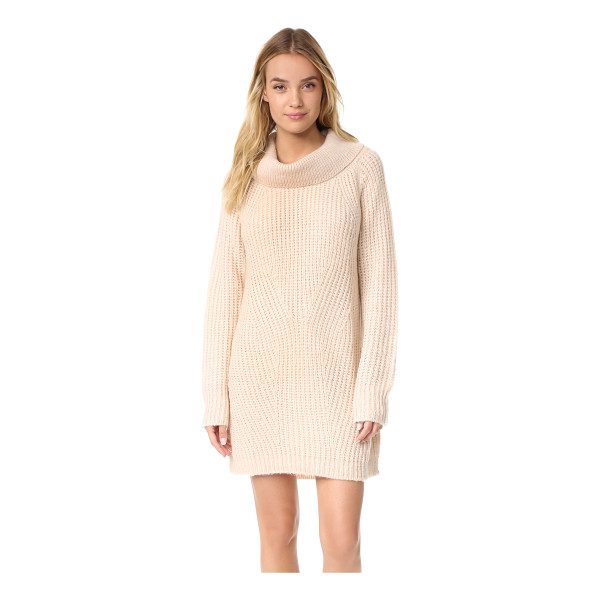 MLM LABEL cowl neck knit dress - A chic, cozy MLM LABEL sweater dress with a soft cowl...