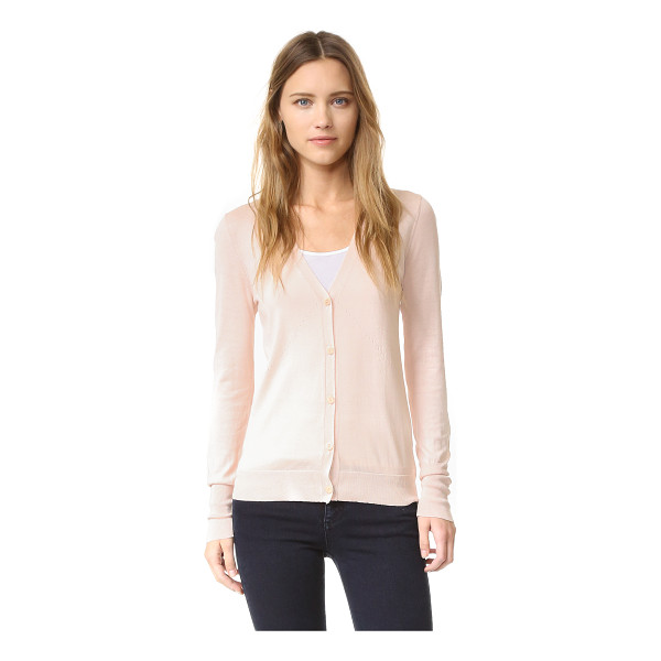 M.PATMOS Perfect cardigan - Dropped threads accent this silk blend M.PATMOS cardigan....