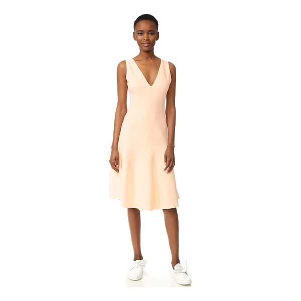 NARCISO RODRIGUEZ sleeveless dress - A swingy skirt gives this Narciso Rodriguez dress an...