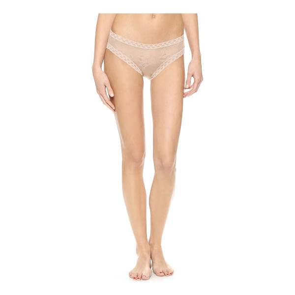 NATORI bliss lace girl briefs - Special value! 1 for $18 or 3 for $45. Sexy sheer-lace...
