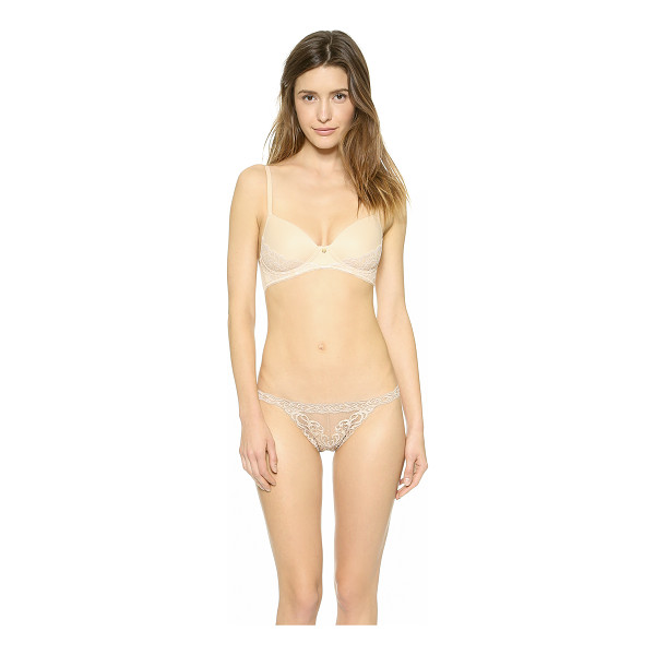 NATORI Dream touch contour soft bra - Soft, smooth jersey brings extra comfort to this Natori...