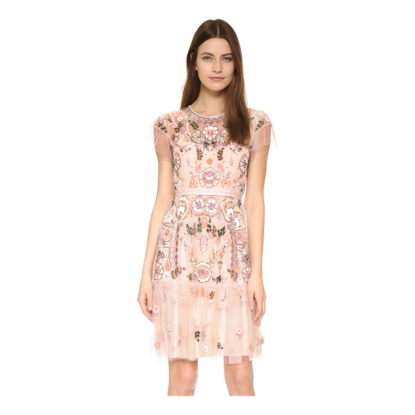 NEEDLE & THREAD Floral tiered dress - Description NOTE: Sizes listed are UK. Please see Size &...