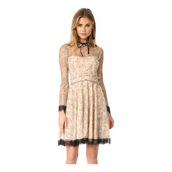 NICHOLAS french lace mini swing dress - A victorian-inspired Nicholas dress made from delicate...