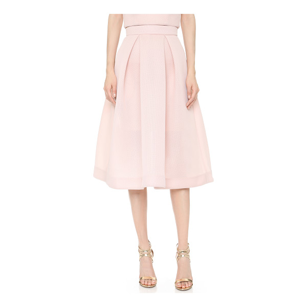 NICHOLAS Mesh ball skirt - This Nicholas skirt is cut from fused mesh for a padded,...