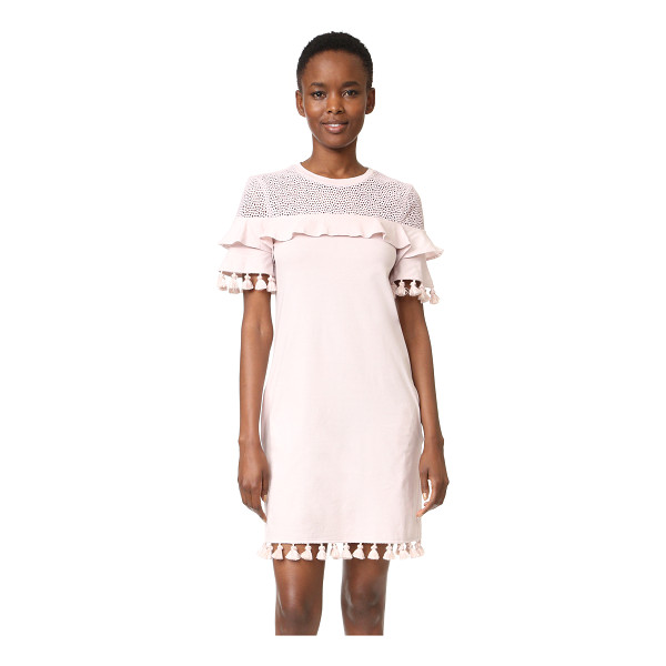 NICHOLAS n/ tassel dress - Tasseled edges give this Nicholas mini dress a playful...