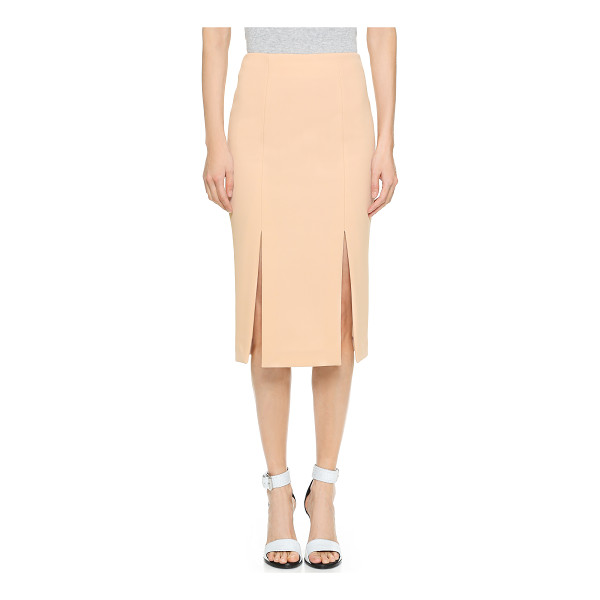 NICHOLAS Split skirt - Two front splits relax the hem of this elegant Nicholas...