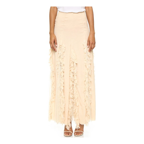 NIGHTCAP X CARISA RENE Carisa rene maxi skirt - An ethereal Nightcap Clothing maxi skirt composed of...