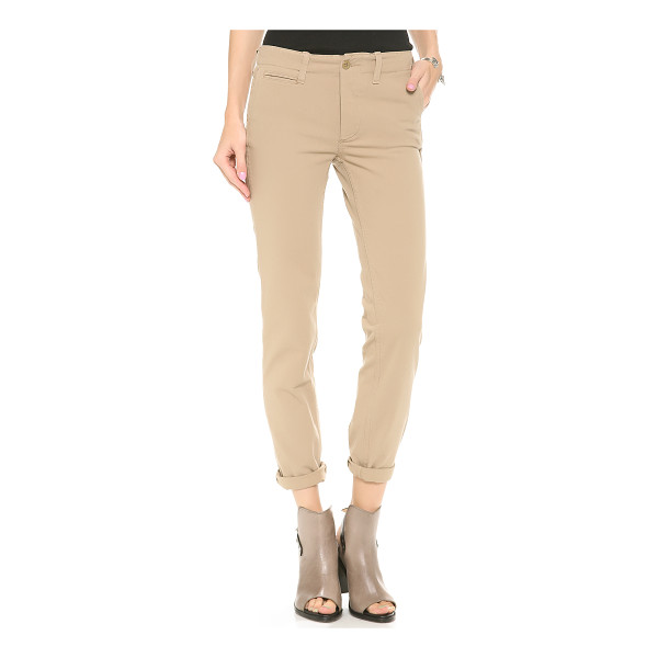 NLST Relaxed chinos - Styled in a loose silhouette, these 4 pocket NLST chinos...