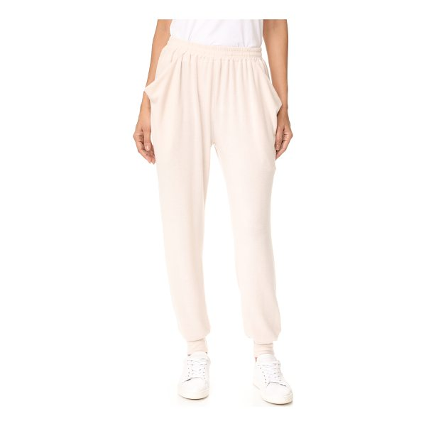 NYTT drape pocket sweats - These slouchy NYTT sweatpants have loose, draped front...