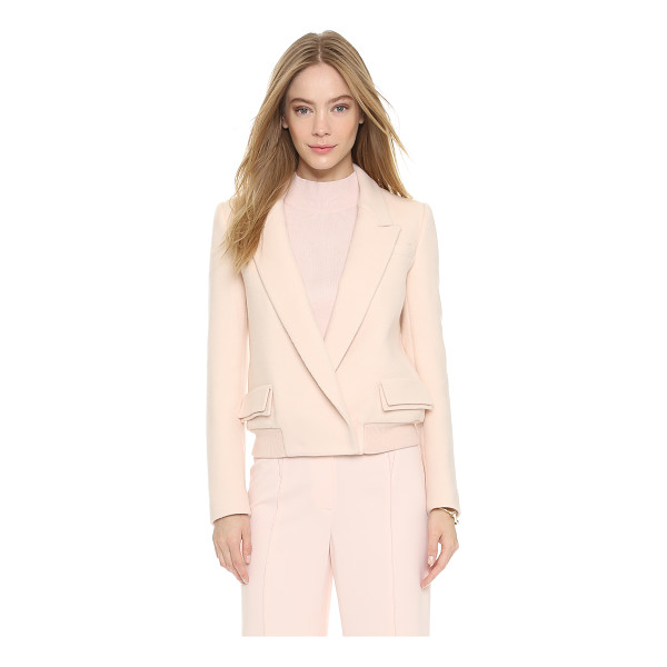 O'2ND Light sorbet jacket - This creamy felt O'2nd jacket offers smart style with a...