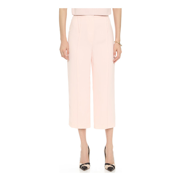 O'2ND Ponita wide leg trousers - High waisted O'2nd pants in a cropped, wide leg profile....