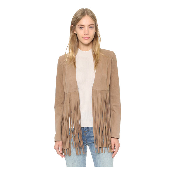ONE BY LAMARQUE Ronni fringe jacket - Description LAMARQUE , selected for Shopbops ONE by...