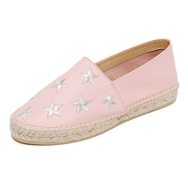 ONE BY SOUTH PARADE FOOTWEAR star embroidered leather espadrilles - South Parade Footwear, selected for Shopbop's ONE by...