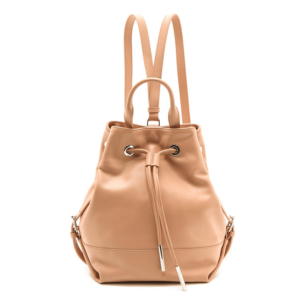 OPENING CEREMONY Izzy backpack - Smooth calfskin composes a slouchy Opening Ceremony
