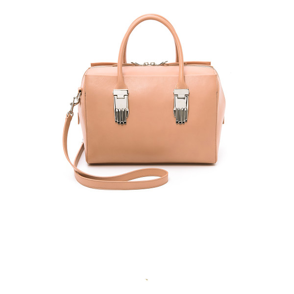 OPENING CEREMONY Lele satchel bag - A chic Opening Ceremony tote in sturdy leather. Polished...