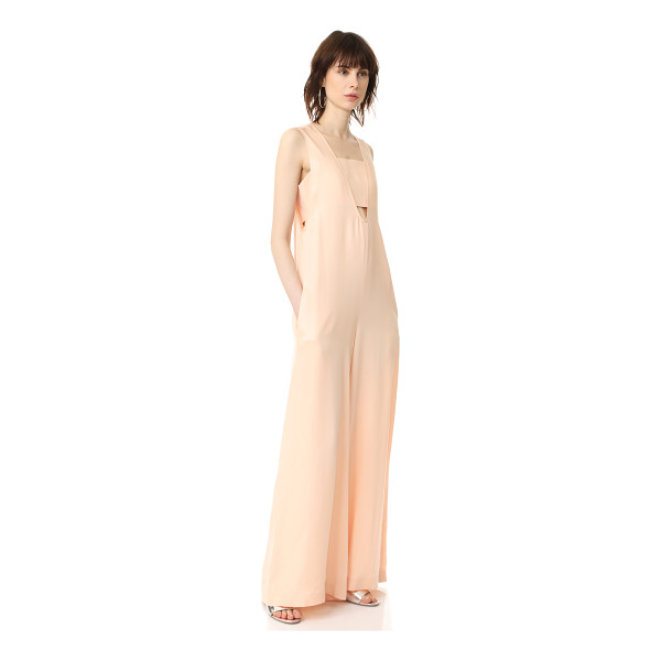 OPENING CEREMONY u neck jumpsuit - NOTE: Unique sizing advice. A wide-leg Opening Ceremony...