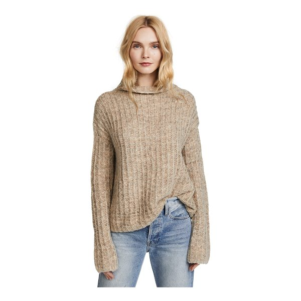 PAM & GELA funnel neck sweater - Fabric: Knit Pullover style Waist-length style Mock neck...