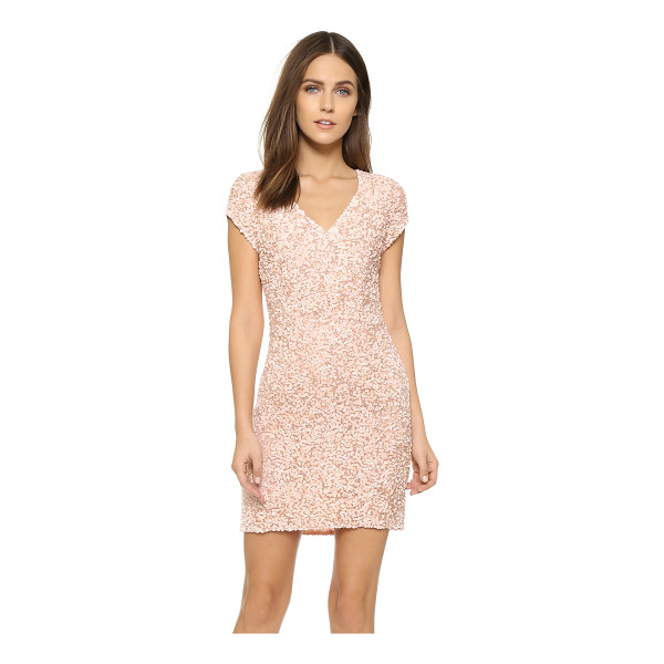 PARKER Serena sequin dress - An elegant, sequined Parker mini dress with a formfitting...