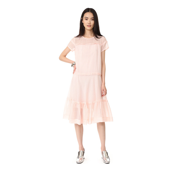 PAUL & JOE SISTER anatoile dress - NOTE: Runs true to size. Filmy stripes accent this airy...