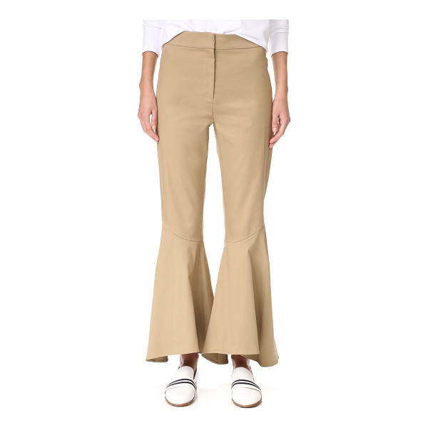 PETERSYN amelia pants - Casual twill Petersyn pants have a dramatic feel, with...