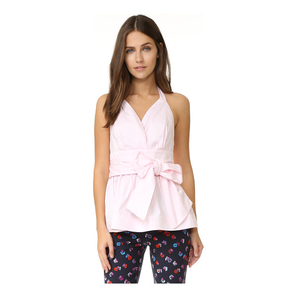 PETERSYN Petersyn Dana Top - A crisp, feminine Petersyn top. Pleating accents the cups,...