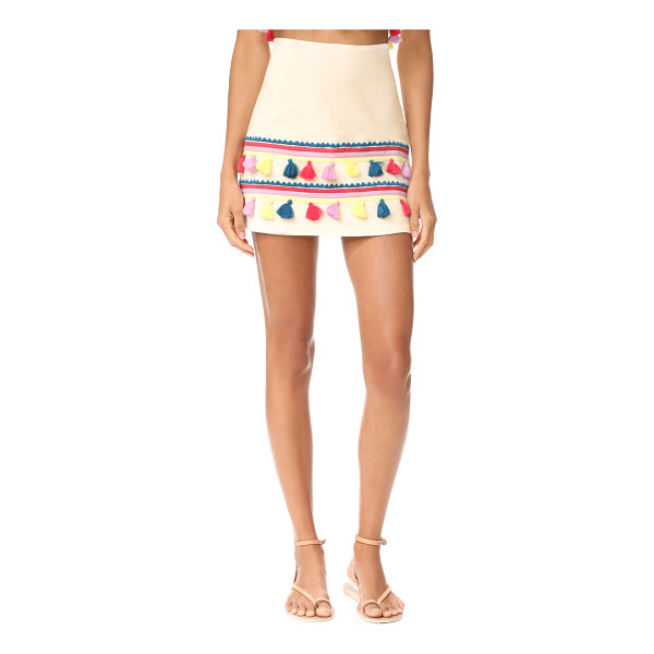 PIPER melbourne skirt - A simple A-line Piper skirt feels playful, detailed with...