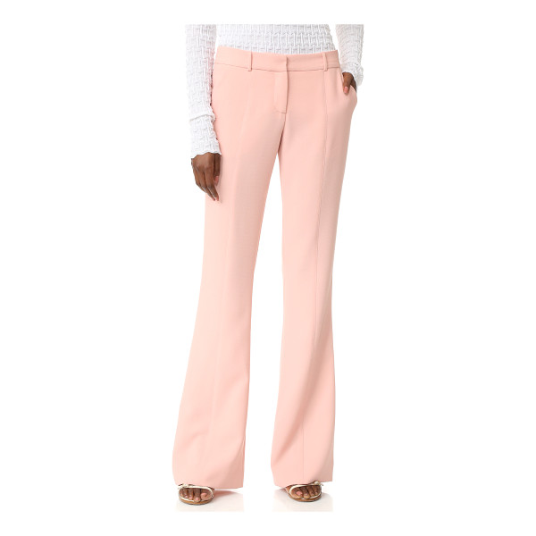 PRABAL GURUNG molded seam pants - Prabal Gurung pants in a high waisted, wide leg profile....